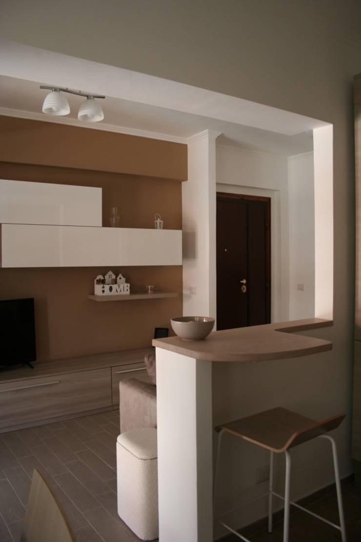 soggiorno angolo cottura: Cucina in stile  di PARIS PASCUCCI ARCHITETTI