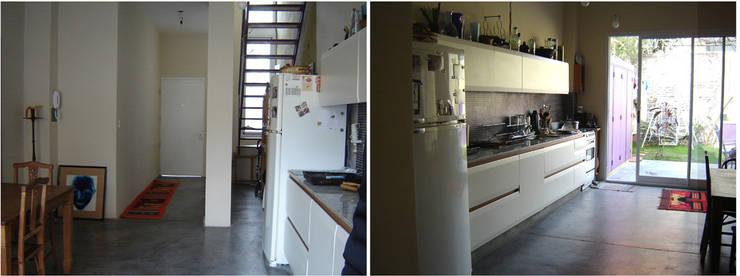 Ph casa: Cocinas a medida  de estilo  por Paula Mariasch - Juana Grichener - Iris Grosserohde Arquitectura,