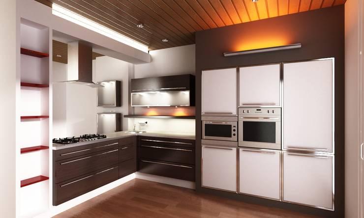 Rediseño de cocina, diseño y confección de mobiliario: Cocinas de estilo  por MyF Diseño