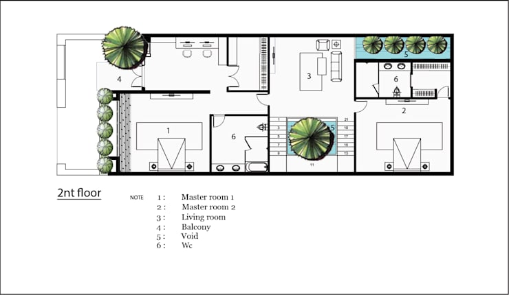 VILLA A. K:  Biệt thự by AE STUDIO DESIGN