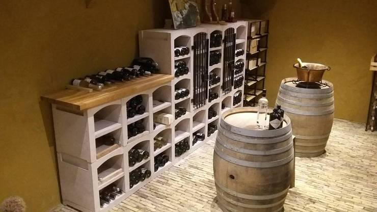 Vinicase wijnrek:   door Exaro, Klassiek Steen