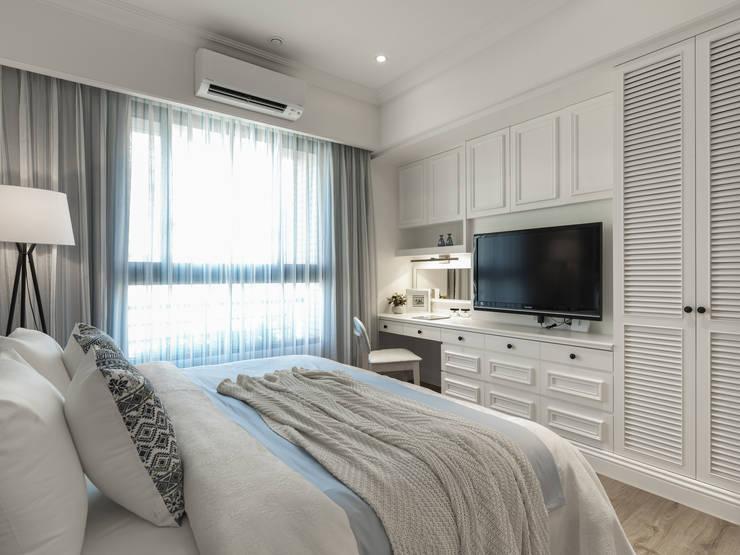غرفة نوم تنفيذ 存果空間設計有限公司