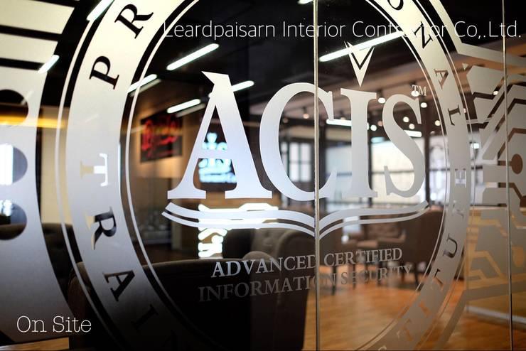 ACIS Professional Center Co., Ltd.:   by บริษัท เลิศไพศาล อินทีเรีย คอนแทรคเตอร์ จำกัด