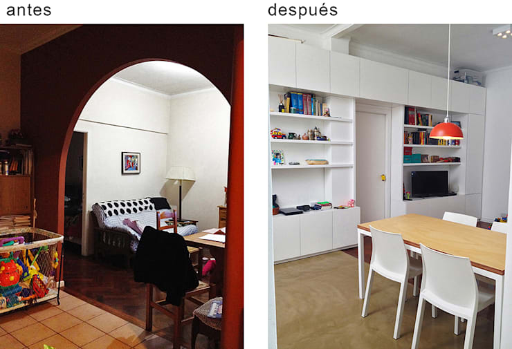 PH Charlone: Comedores de estilo  por Paula Mariasch - Juana Grichener - Iris Grosserohde Arquitectura,