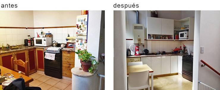 PH Charlone: Cocinas a medida  de estilo  por Paula Mariasch - Juana Grichener - Iris Grosserohde Arquitectura,