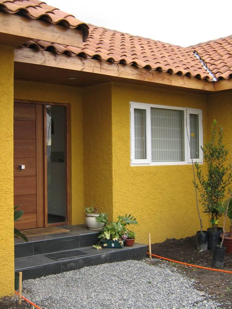 Casa Chicureo: Casas de estilo  por Casas E-Haus