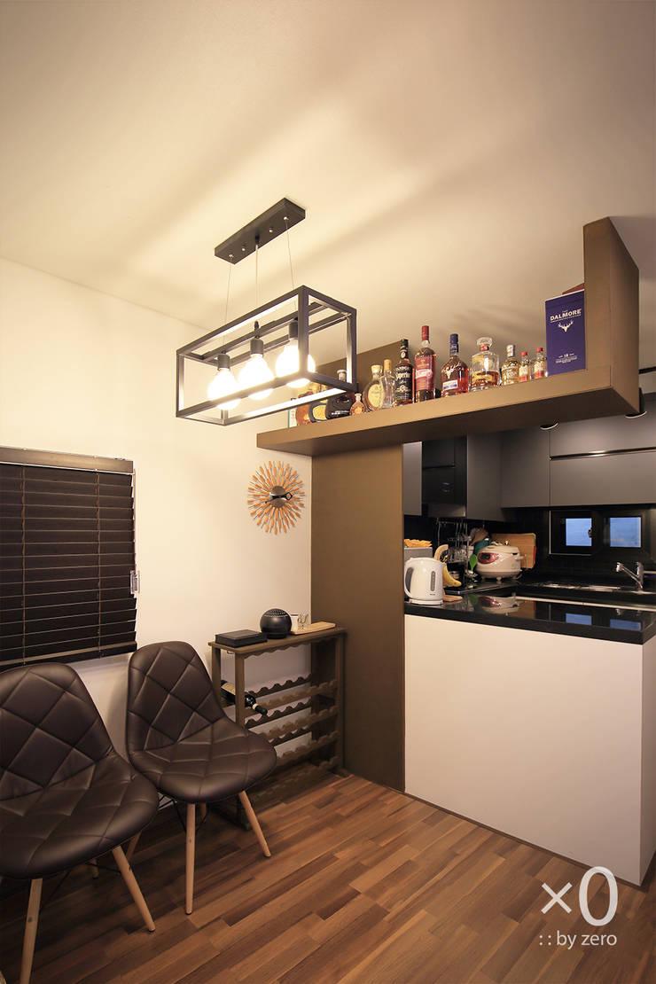홍제동 노후주택 리모델링: 바이제로의  주방,모던