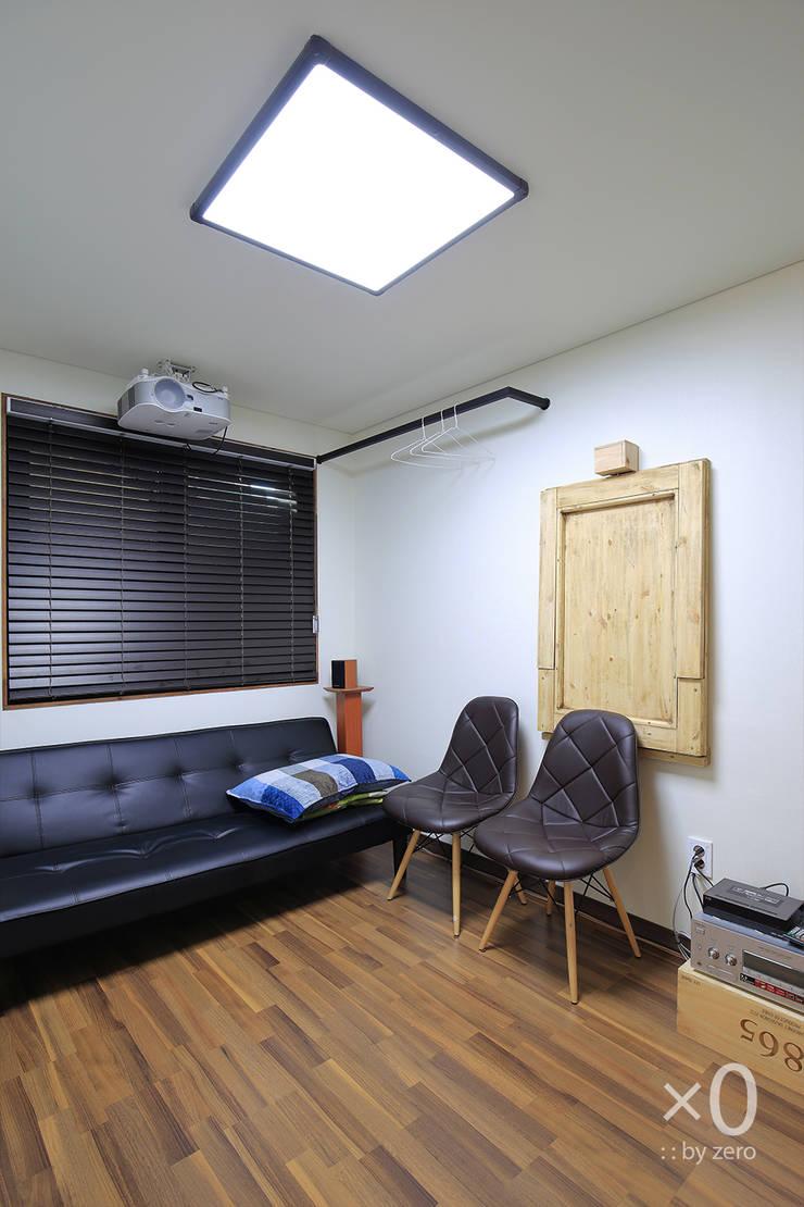 홍제동 노후주택 리모델링: 바이제로의  방,모던