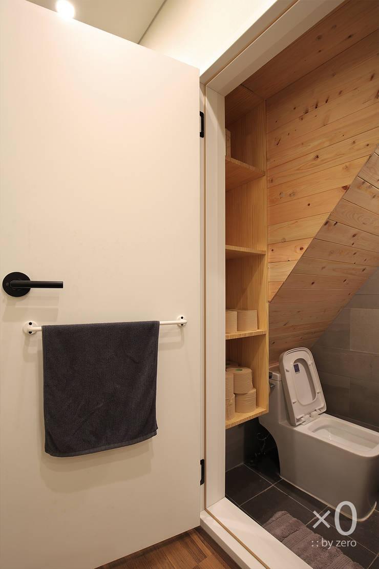 홍제동 노후주택 리모델링: 바이제로의  욕실,모던