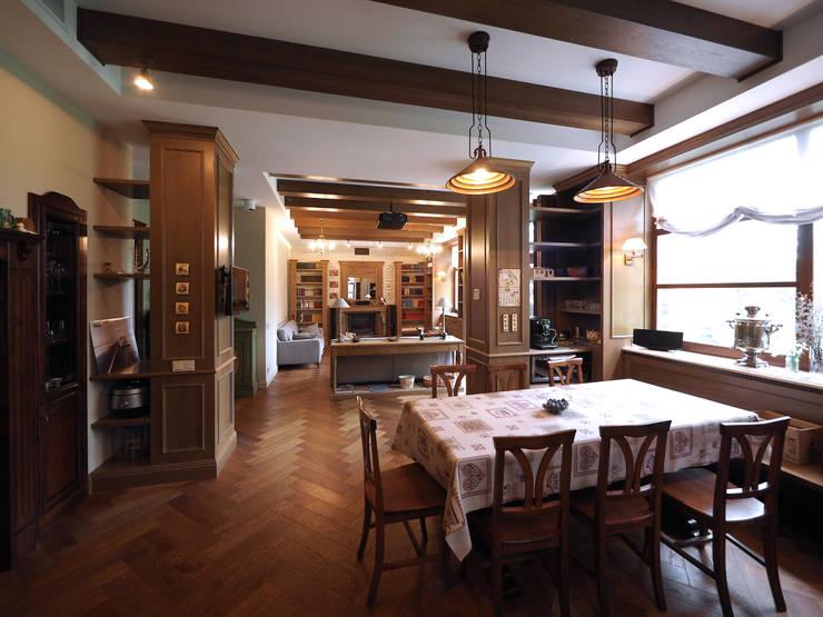 кухня-гостиная: Гостиная в . Автор – ООО' А2про'