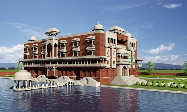 Hotel:  Villas by Ravi Prakash Architect
