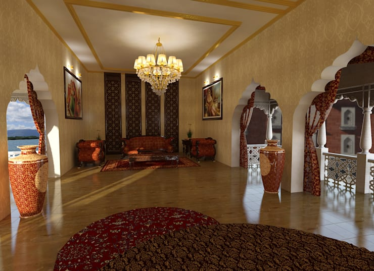 Bridal Suite: classic Bedroom by Ravi Prakash Architect