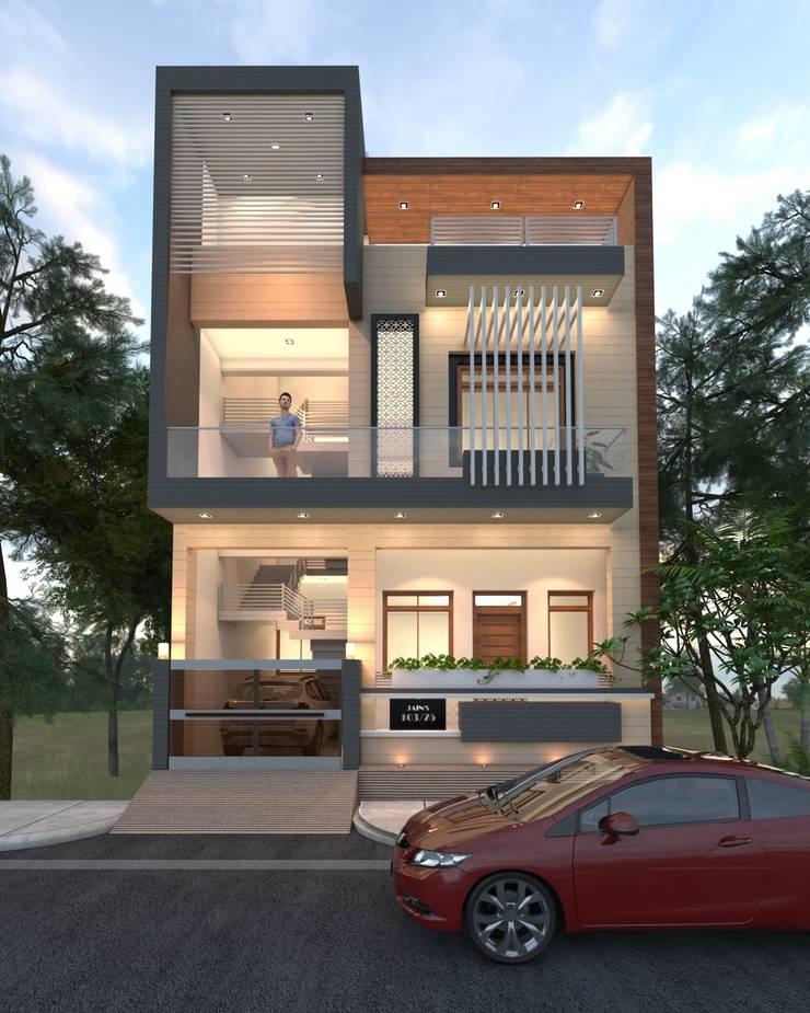 Jain's House:  Villas by Ravi Prakash Architect