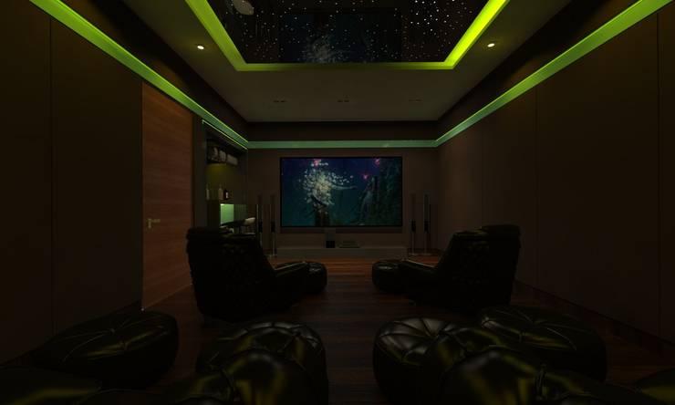 Home Theatre:  Electronics by Ravi Prakash Architect