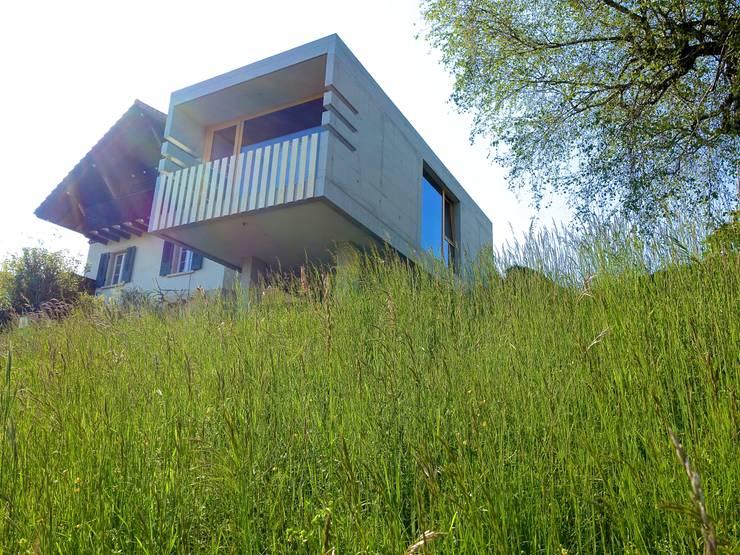 Ostansicht - Foto by zeitwerkstatt:  Einfamilienhaus von zeitwerkstatt gmbh