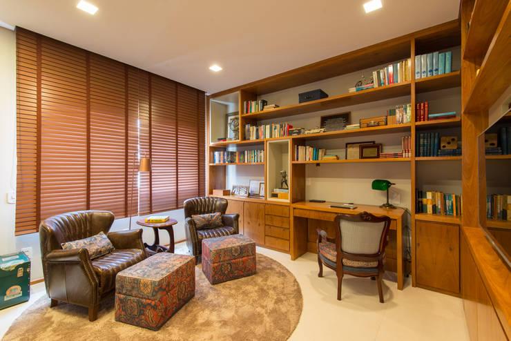 Home Office: Escritórios  por RF DESIGN DE INTERIORES