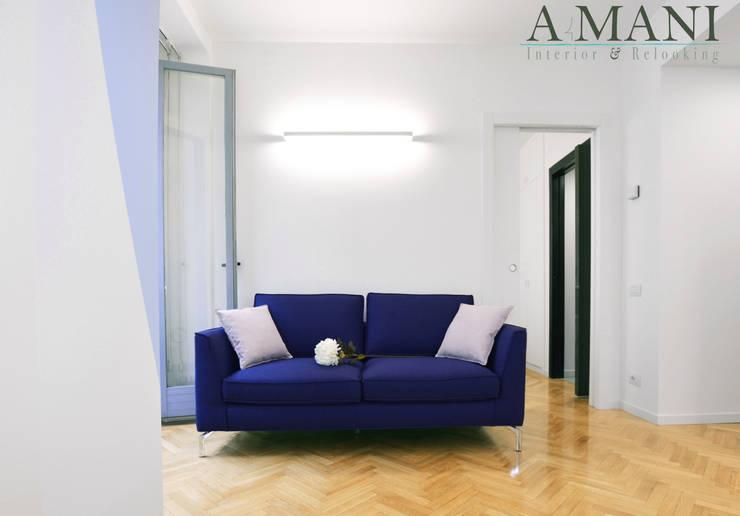 Soggiorno: Soggiorno in stile  di A4MANI - Interior & Architecture