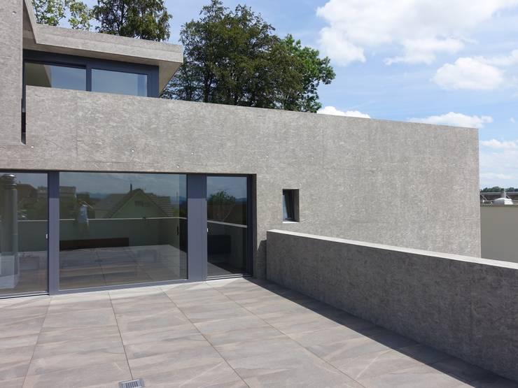 Westansicht - Foto by zeitwerkstatt:  Einfamilienhaus von zeitwerkstatt gmbh