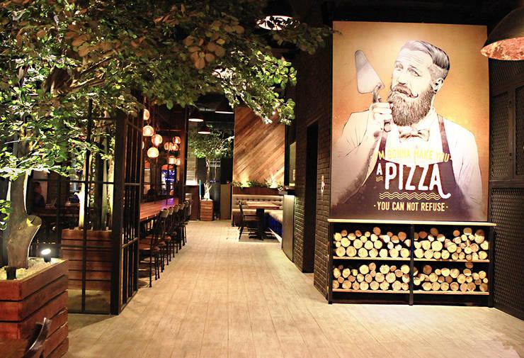 Bastardo Gourmet Pizza & Bar – Pantai Indah Kapuk:   by TRE Studio