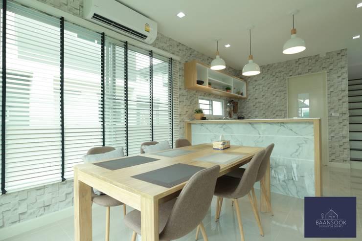 """""""มินิมอล"""":  ตกแต่งภายใน by BAANSOOK Design & Living Co., Ltd."""
