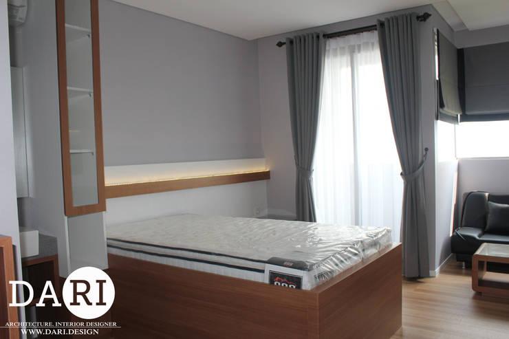 2 in 1 bed :  Bedroom by DARI