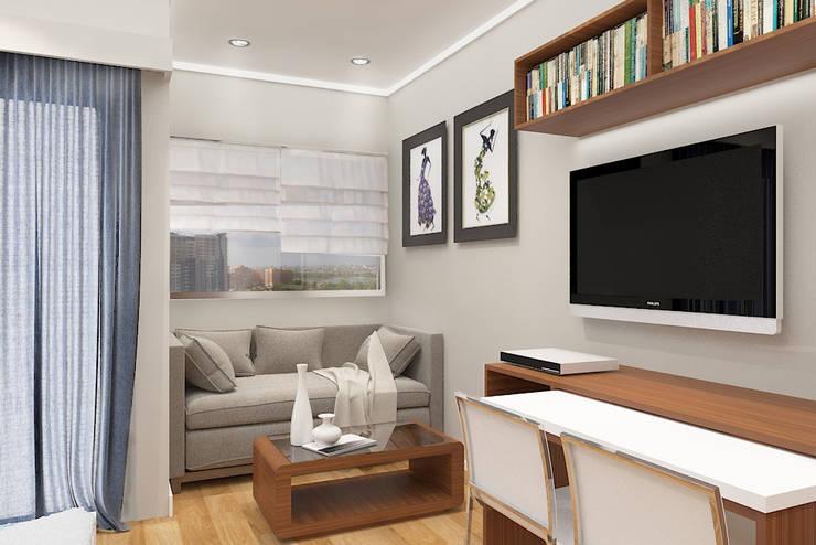 3d concept 3:  Living room by DARI