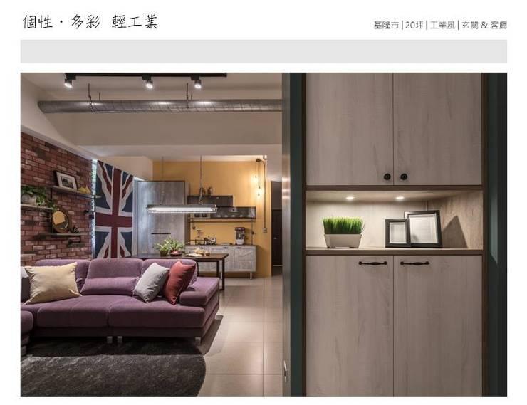 Ingresso & Corridoio in stile  di 大不列顛空間感室內裝修設計