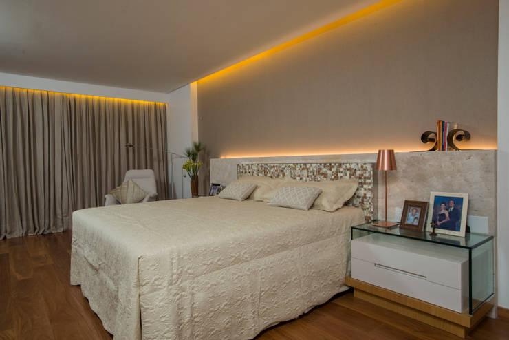 modern Bedroom by Danielle Valente Arquitetura e Interiores