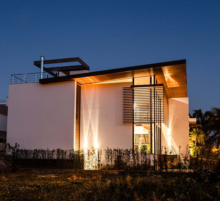 modern Houses by Ruschel Arquitetura e Urbanismo