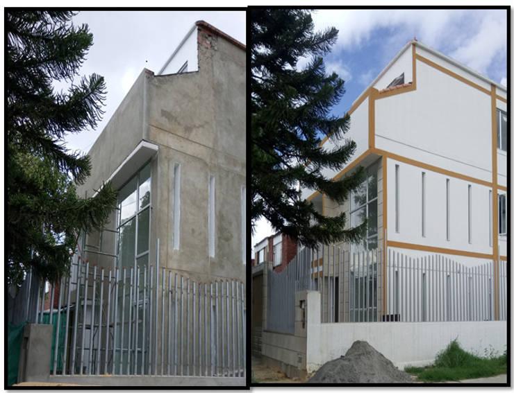 CASAS MODELIA.: Casas de estilo moderno por CELIS & CELIS INGENIEROS CONSTRUCTORES S.A.S