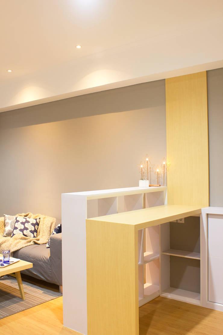 Silkwood Apartment Unit:  Ruang Makan by TIES Design & Build