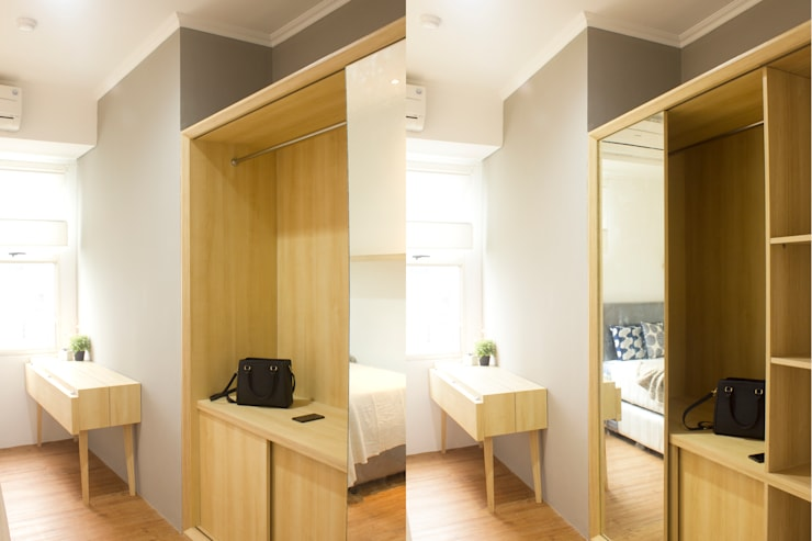 Silkwood Apartment Unit:  Kamar Tidur by TIES Design & Build