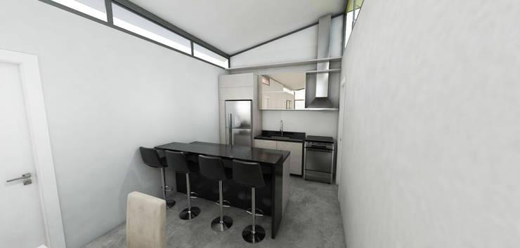Kitchen units by Petillo Arquitetura