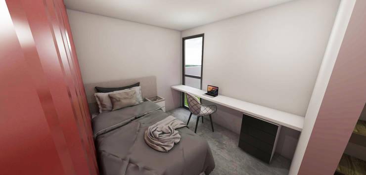 Bedroom by Petillo Arquitetura