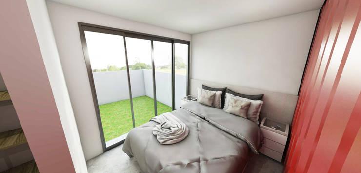 modern Bedroom by Petillo Arquitetura