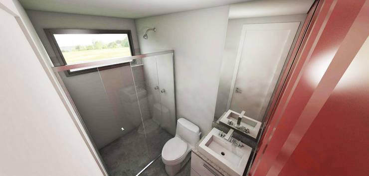 modern Bathroom by Petillo Arquitetura