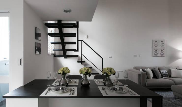 馭之境‧貳次主軸:  樓梯 by 北歐制作室內設計
