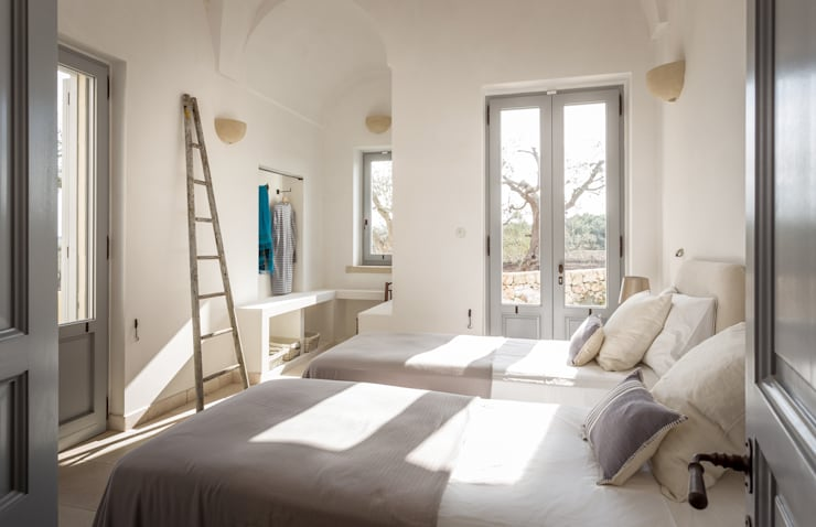 Habitaciones de estilo  por architetto stefano ghiretti