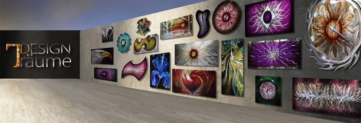 wandbilder aus metall kunstwerke aus metall f r ihre vier w nde von designwerkstatt baumgarten. Black Bedroom Furniture Sets. Home Design Ideas