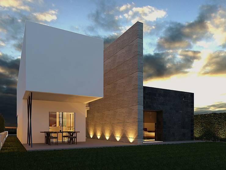 PROYECTO: Casas de estilo  por Arq. Beatriz Gómez G.