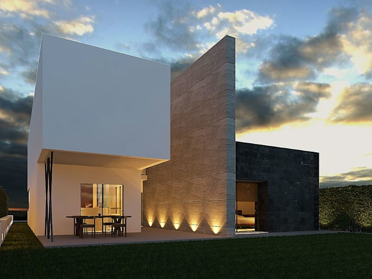 PROYECTO: Casas de estilo moderno por Arq. Beatriz Gómez G.