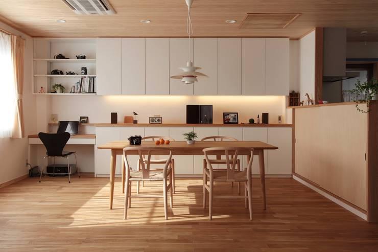 昭府の家: 堺建築設計事務所が手掛けたダイニングです。