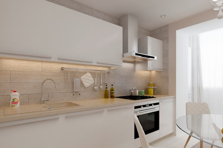 廚房 by Дизайн и ремонт