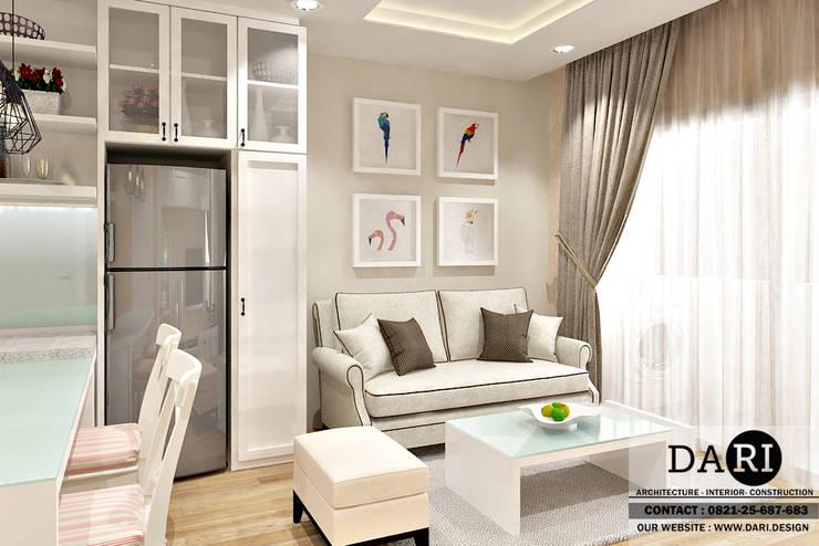 living room sofa:  Living room by DARI