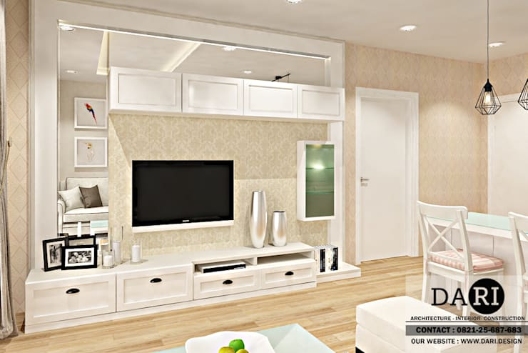 living room cabinet:  Living room by DARI