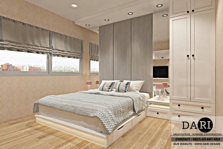 bedroom backdrop + bed:  Bedroom by DARI