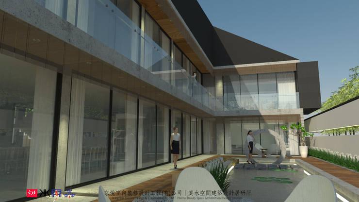 京悅蘇州:  禪風庭院 by 京悅室內裝修設計工程(有)公司|真水空間建築設計居研所