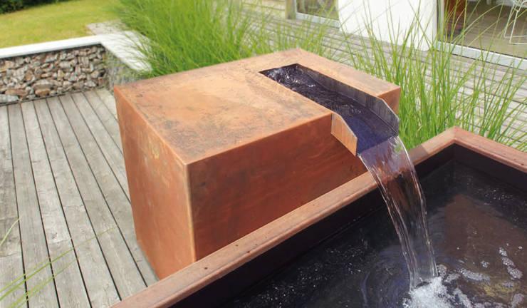 Cortenstahl Brunnen Von Manufaktur Von Doberstein Homify