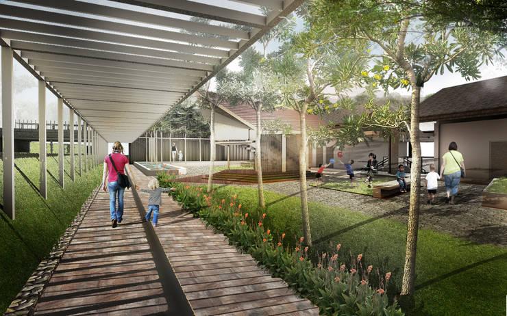 Clinic courtyard:  Klinik by Sanny Yuwono