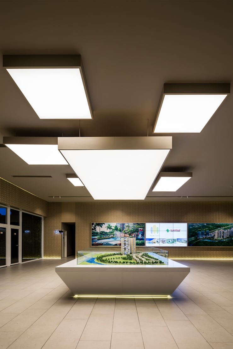 Living room by MIA Design Studio, Modern